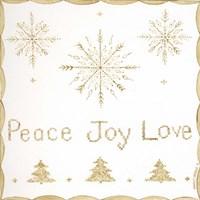 Peace, Joy, Love Fine-Art Print
