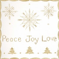 Peace, Joy, Love Fine-Art Print