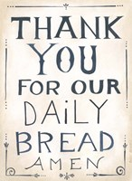 Daily Bread Fine-Art Print