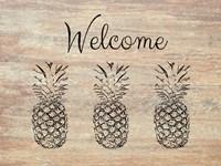 Welcome on Wood Fine-Art Print