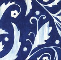 Tangled In Blue I Fine-Art Print