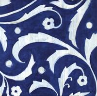 Tangled In Blue III Fine-Art Print