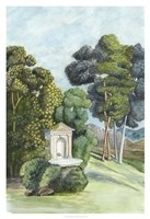 Scenic French Wallpaper I Fine-Art Print