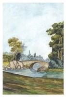 Scenic French Wallpaper III Fine-Art Print