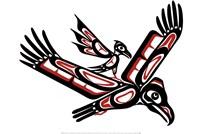 Eagle And Crow Fine-Art Print