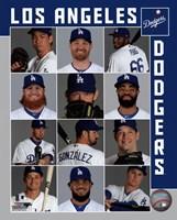Los Angeles Dodgers 2017 Team Composite Fine-Art Print