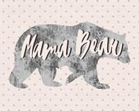 Mama Bear Silhouette Fine-Art Print
