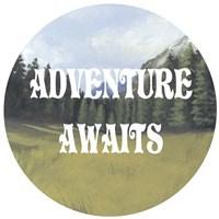 Adventure Typography III Fine-Art Print