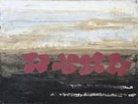 Stenciled Posies IV Fine-Art Print
