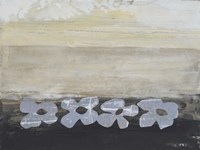 Stenciled Posies V Fine-Art Print