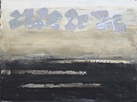 Stenciled Posies VI Fine-Art Print