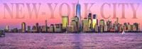 Manhattan at Sunrise Fine-Art Print