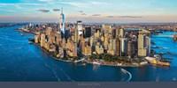 New York between Sky & Sea Fine-Art Print