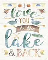 Lake Love II Fine-Art Print