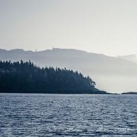 Coastal Scene I Fine-Art Print