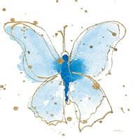 Gilded Butterflies V Fine-Art Print