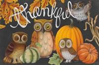 Harvest Owl III Fine-Art Print