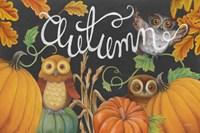 Harvest Owl II Fine-Art Print