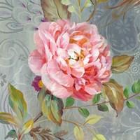 Peonies and Paisley II Fine-Art Print