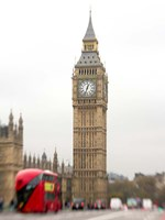 Big Ben Bus Fine-Art Print