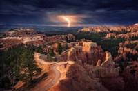 Lightning Over Bryce Canyon Fine-Art Print