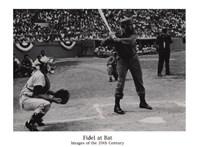Fidel at Bat Fine-Art Print
