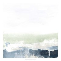 Seafoam Horizon I Fine-Art Print