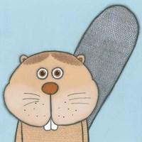 Super Animal - Beaver Fine-Art Print
