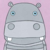 Super Animal - Hippo Fine-Art Print