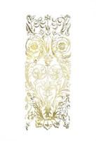 Gold Foil Renaissance Panel II Fine-Art Print