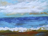 Beach & Sky II Fine-Art Print