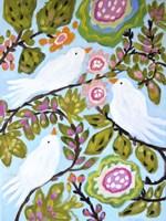 Sweet Love Birds I Fine-Art Print