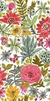 Multi Bloom Floral I Fine-Art Print