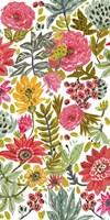 Multi Bloom Floral II Fine-Art Print
