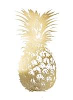 Gold Foil Pineapple I Fine-Art Print