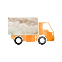 Truck With Paint Texture - Part III Fine-Art Print
