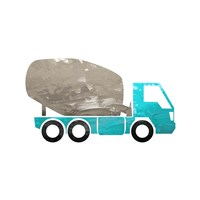 Truck With Paint Texture - Part IV Fine-Art Print