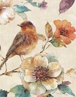 Spiced Nature II Linen Leaf Fine-Art Print