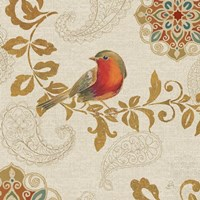 Bird Rainbow Red Fine-Art Print