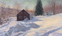 From My Studio In Winter Fine-Art Print
