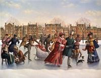 Victorian Skaters Fine-Art Print
