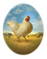 Smaller Promo Chicken - Egg Fine-Art Print
