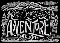 Enjoy The Adventure Fine-Art Print
