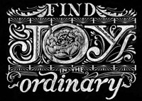 Find Joy In The Ordinary Fine-Art Print