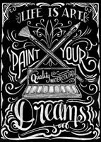Life Is Art Paint Your Dreams Fine-Art Print
