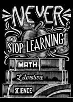 Never Stop Learning Fine-Art Print