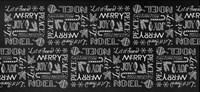 Christmas Wrap 1 repeat Fine-Art Print
