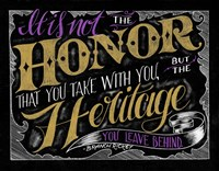 It Is Not The Honor Fine-Art Print