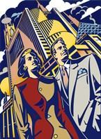 Business Couple Fine-Art Print
