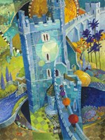The Blue Castle Fine-Art Print